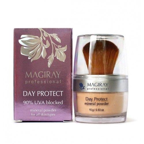 מאג'יריי אבקת הגנה (פודרה) מינרלית נגד קרינת שמש  - Magiray Day Protect Mineral Powder SPF-20