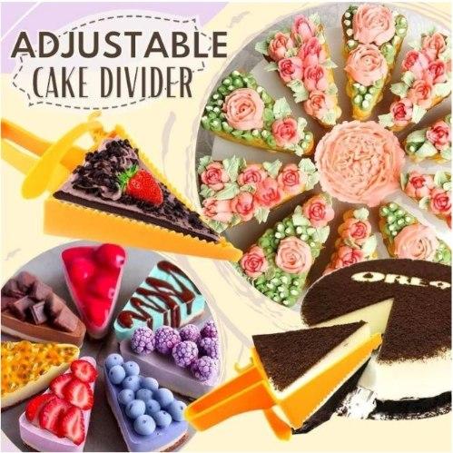 חותך עוגה מתכוונן - 2 יחידות