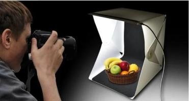 קוביית אור ניידת לצילום