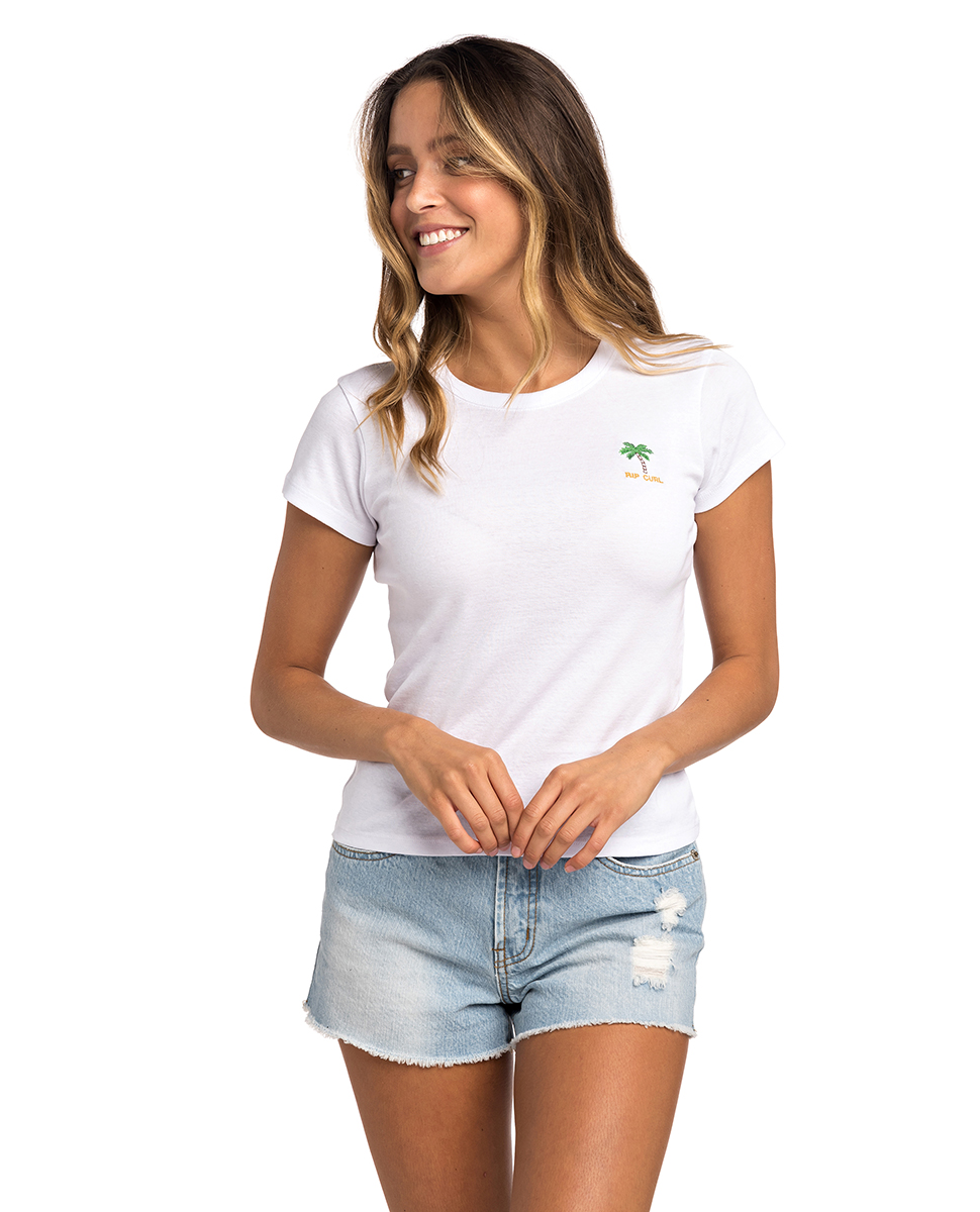 RIP CURL REVIVED RIB TEE