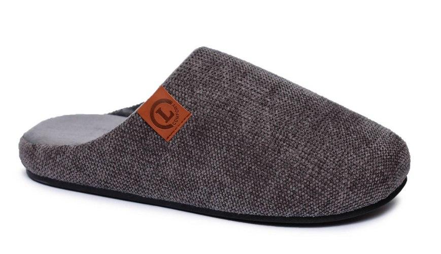 נעלי בית חמימות לגברים עם רפידת זכרון לנוחות דגם - SOFT-M1
