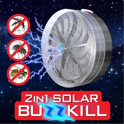 קוטל יתושים עובד על אנרגיה סולארית