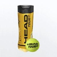 כדור טניס HEAD TOUR XT  שלישית כדורים