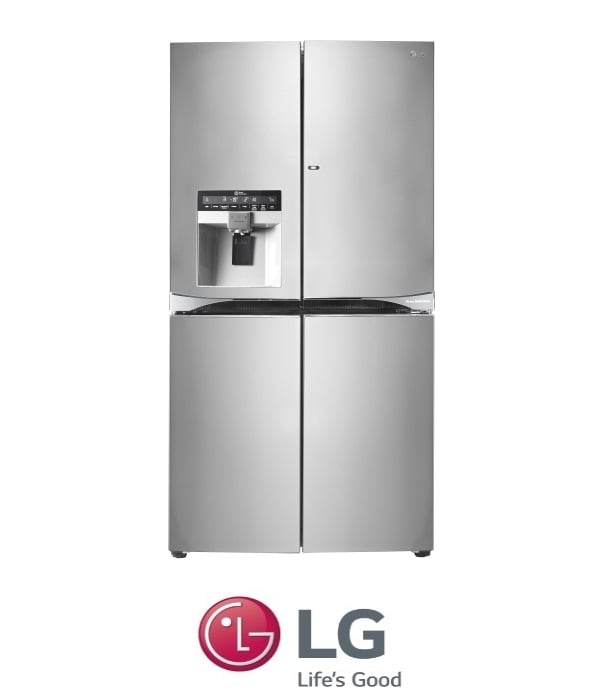 מעולה LG מקרר 4 דלתות Door In Door + קיוסק דגם: GR-J910DID מתצוגה ! OU-13