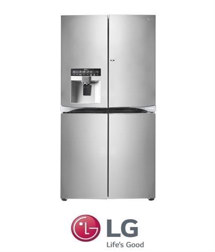 LG מקרר 4 דלתות Door In Door + קיוסק דגם: GR-J910DID מתצוגה !