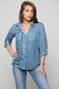חולצת וואלס כחול GLORY