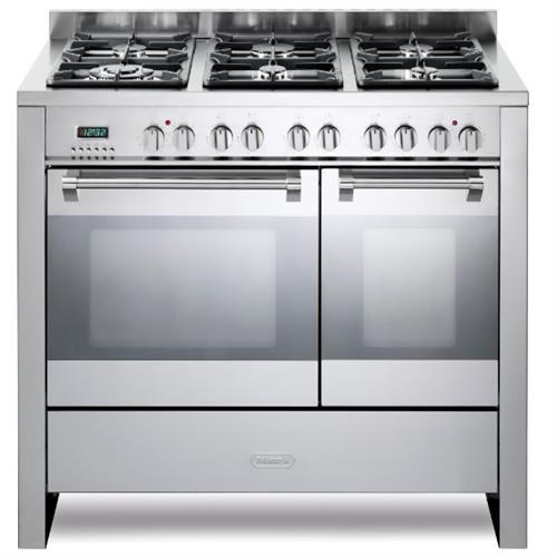 תנור משולב כיריים Delonghi NDS2002X דה לונגי