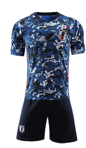 תלבושת כחולה כמו נבחרת יפן