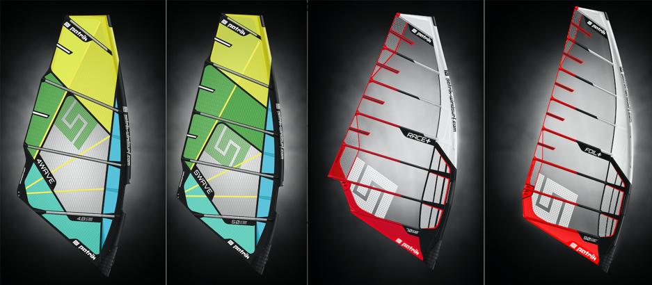 מפרשים Patrik שנתון 21 -   North Wind sea sports