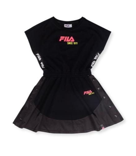 שמלת אופנה שחורה נערות מידות 6-16