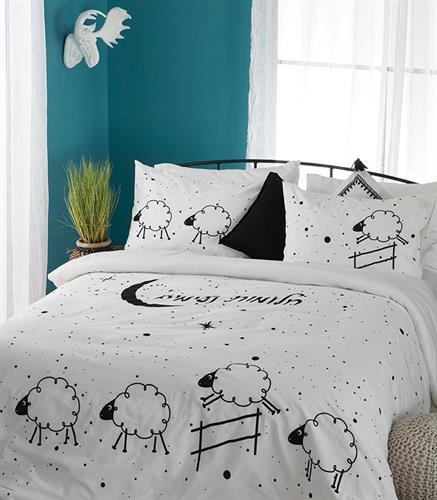 סט למיטה מתכווננת דגם חלומות נעימים