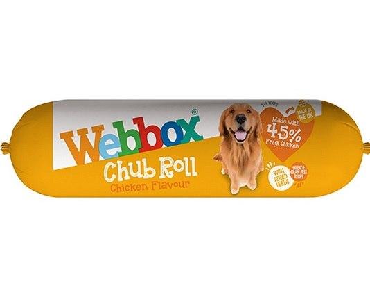 נקניק רך Webbox עוף 720 גרם