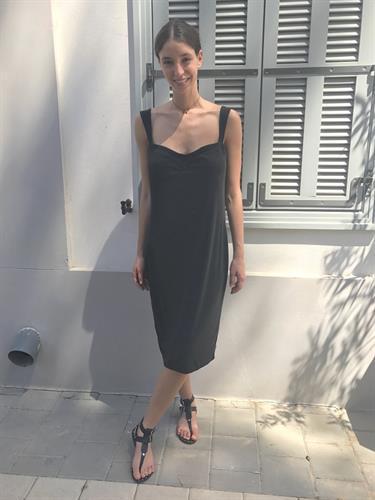 שמלת לוסיל שחור