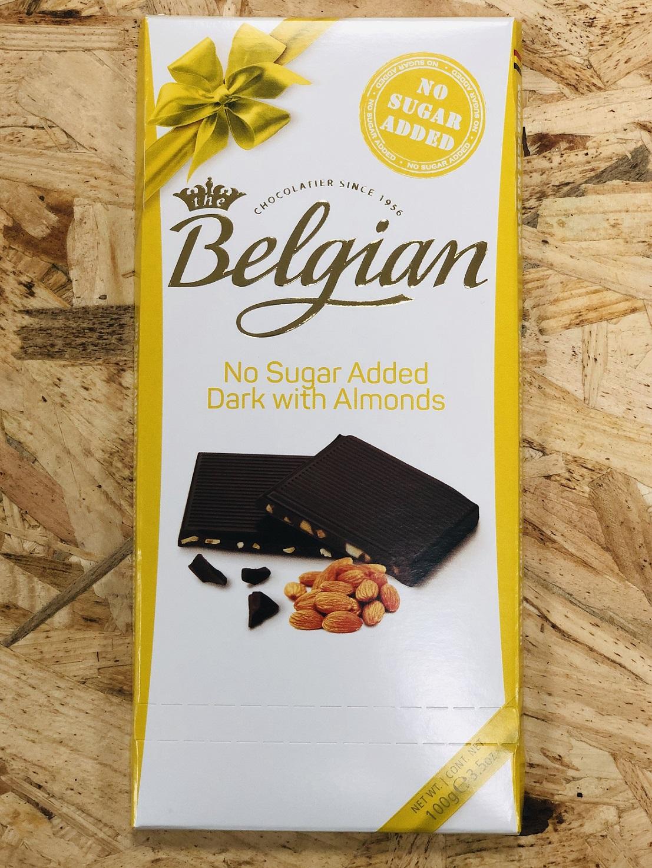 שוקולד בתוספת שקדים ללא סוכר