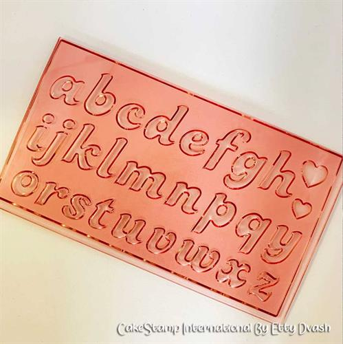 Candy- Letters set 1.5 cm high