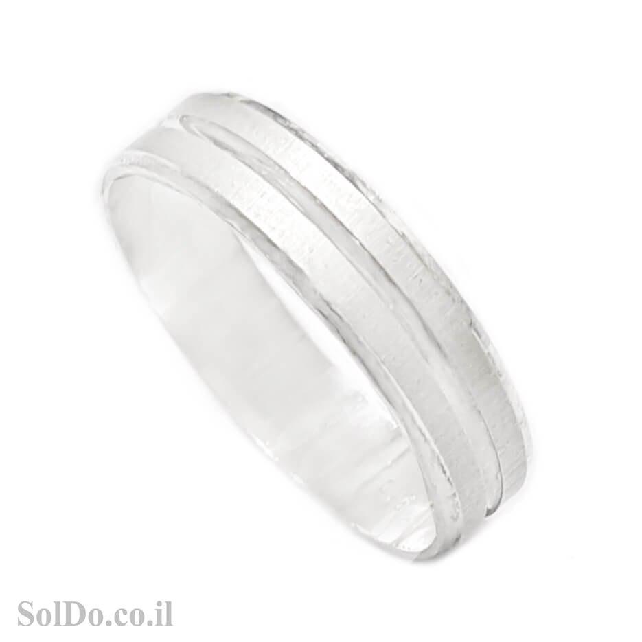 טבעת נישואין מכסף RG6229
