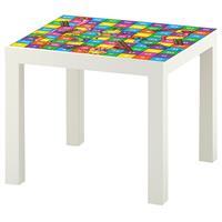 1 יח' טפט דביק מותאם לשולחן (LACK)- סולמות וחבלים