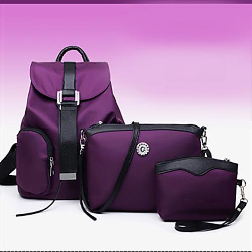 Women's Bags Set - Purple