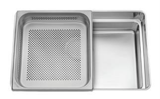 כיור מטבח נירוסטה 55