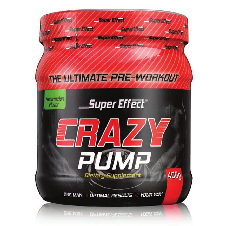 קרייזי פאמפ סופר אפקט - Crazy Pump Super Effect 400 g-