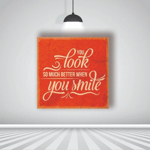 אתה נראה הרבה יותר טוב כשאתה מחייך