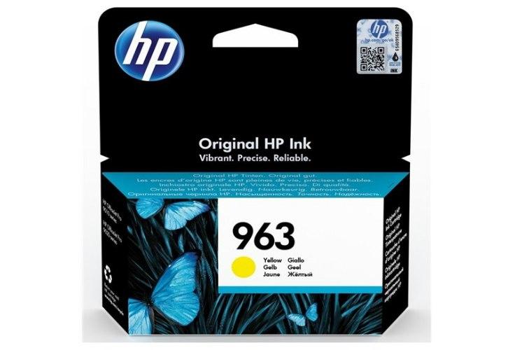 ראש דיו צהוב מקורי HP 963