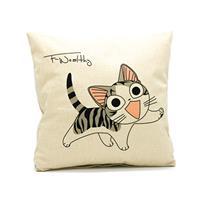 כרית נוי happy cat