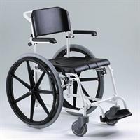 כסא רחצה ושירותים עם הנעה עצמית Meyra