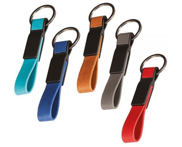 מחזיק מפתחות דמוי עור 3