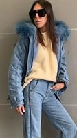 מעיל ג'ינס סליה