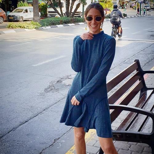 שמלת קיילי סריג
