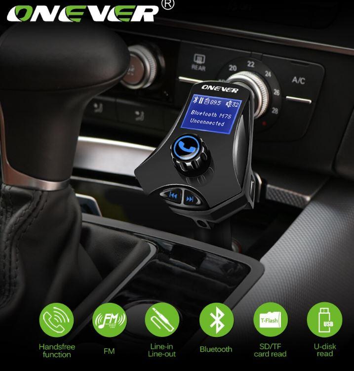 משדר fm של חברת onever לרכב