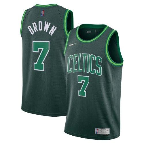 גופיית משחק NBA בוסטון סלטיקס Earned Edition - ג'יילן בראון 20/21