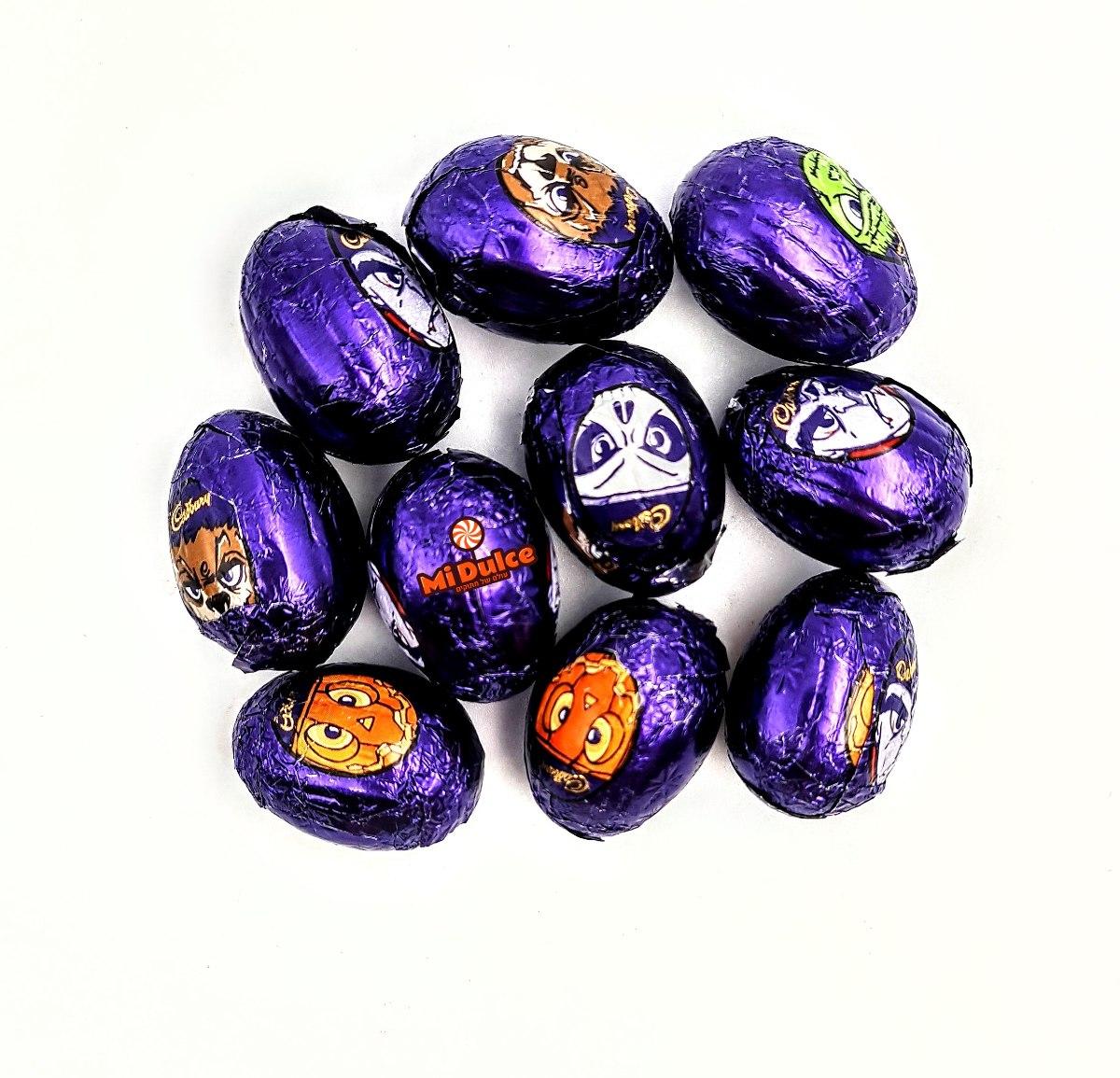 10 מיני ביצי שוקולד קדבורי