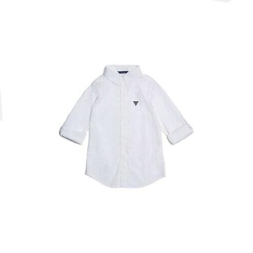 חולצה מכופתרת לבנה GUESS BABY