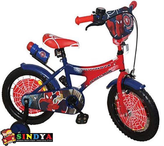 """אופניים 12"""" ספיידרמן Spiderman"""