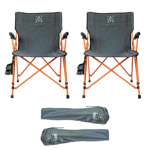 2 יח' כסא קמפינג מתקפל I CAMP EAGLE