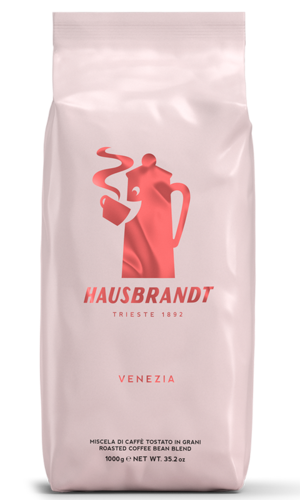"""פולי קפה האוסברנדט ונציה 1 ק""""ג  Hausbrandt VENEZIA"""