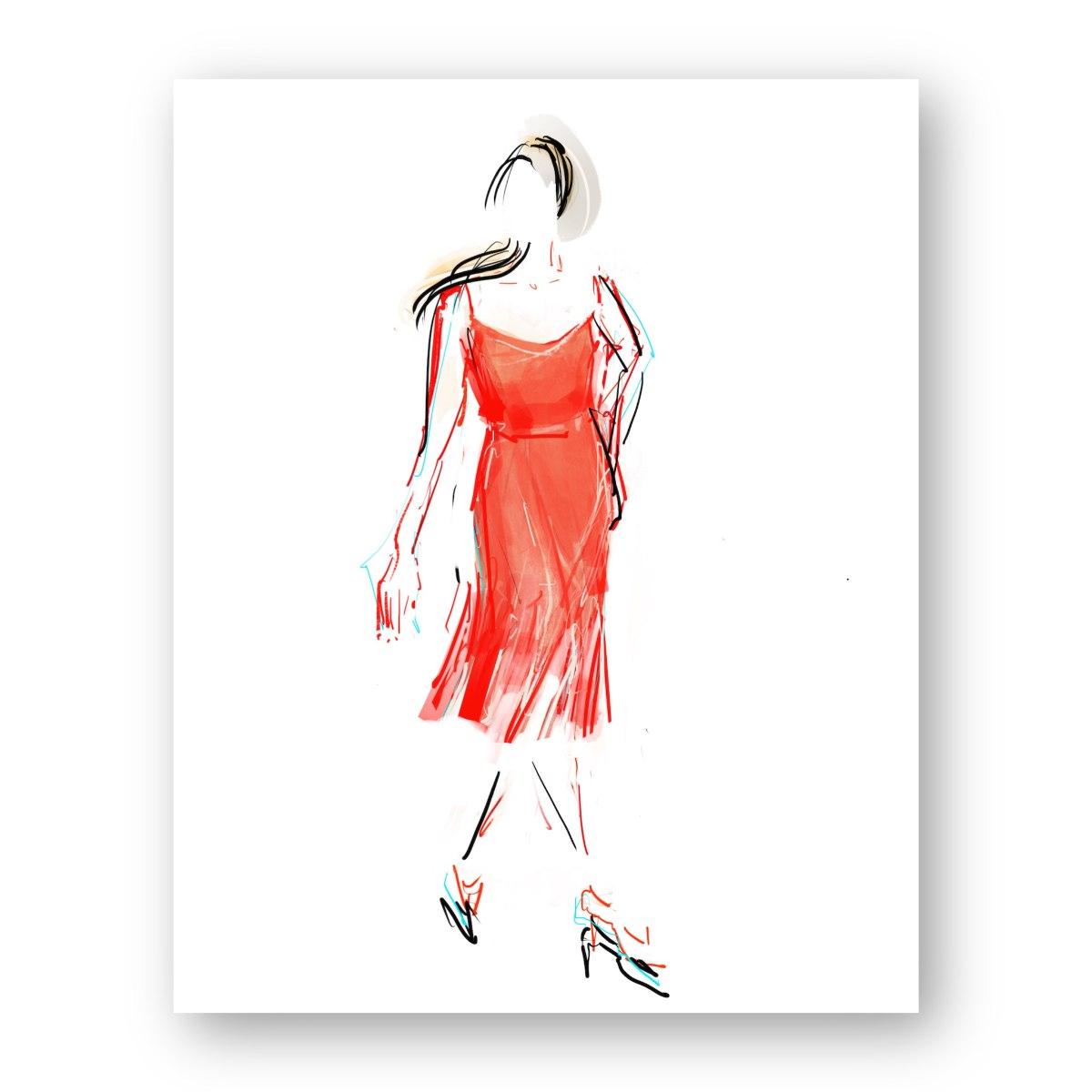 איור אופנה #23