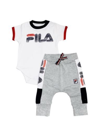 חליפת FILA תינוקות עם מכנס ארוך - 0-12 חודשים