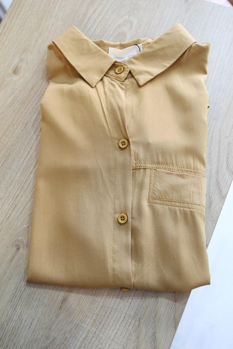 חולצת רוי חרדל