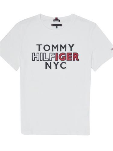 טישירט TOMMY HILFIGER NYC לבן