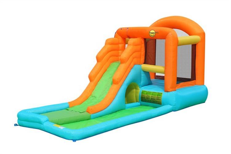 מתקן קפיצה ומים מגלשת המים הפי הופ - 9049 - Gint Airflow Bouncy Castle And Pool Happy Hop