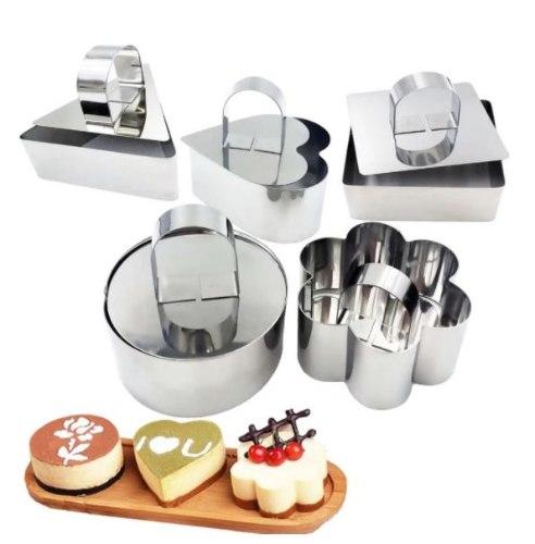 שבלונות אפייה עוגות אישיות - 5 צורות