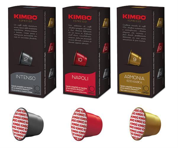 100 קפסולות תואמות נספרסו קימבו מיקס - Kimbo Mix