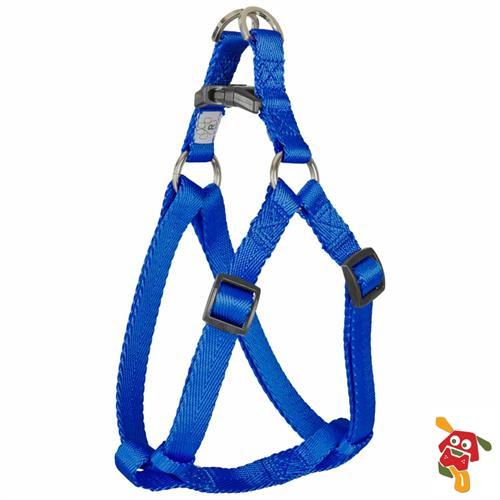 """רתמה לכלב - כחול מידה M (מתאים עד 23 ק""""ג)"""