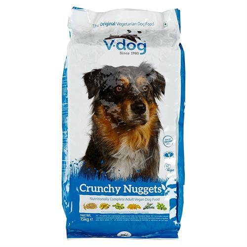 וידוג מזון טבעוני לכלבים
