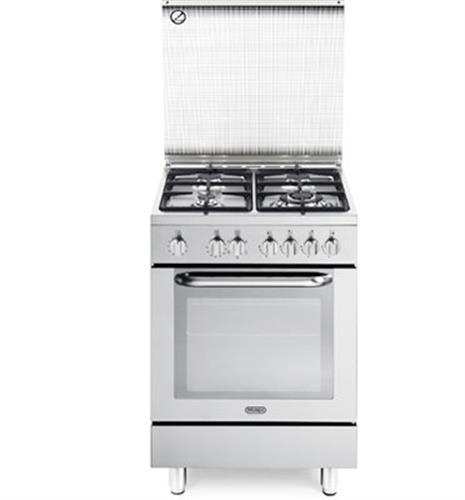 תנור משולב כיריים Delonghi NDS 577X דה לונגי