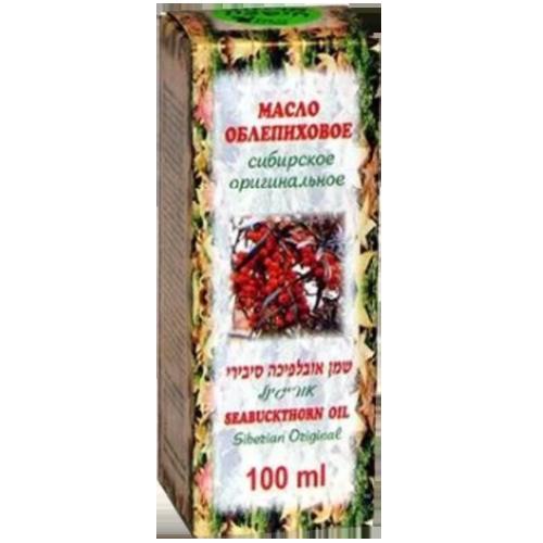 """-- שמן אובליפיחה סיבירי -- מכיל  100 מ""""ל"""