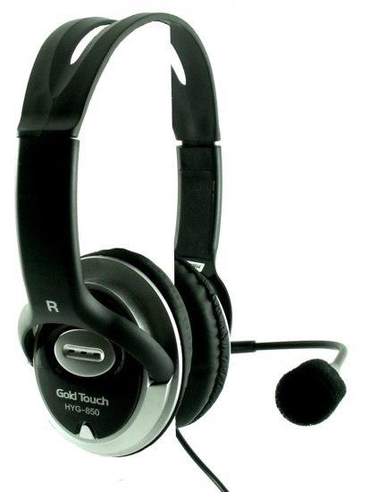 אוזניות חוטיות Gold Touch -HYG800